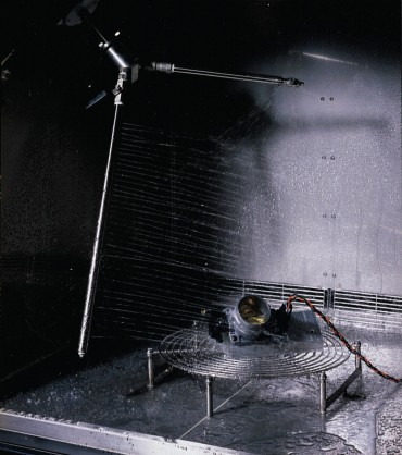 Photo of Rain & Spray Test