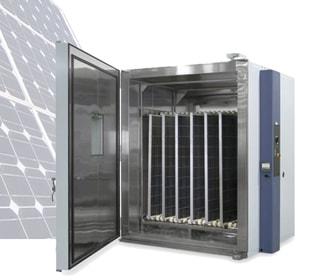 Large Solar Panel Testing Chamber